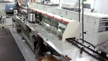 Mailcrafter 9800L with GBR 438 Stretch Machine
