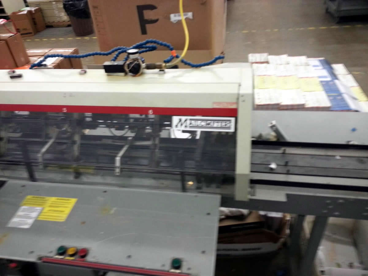 Mailcrafter 1200 9x12 Inserter - Roberts Business Machines, Inc