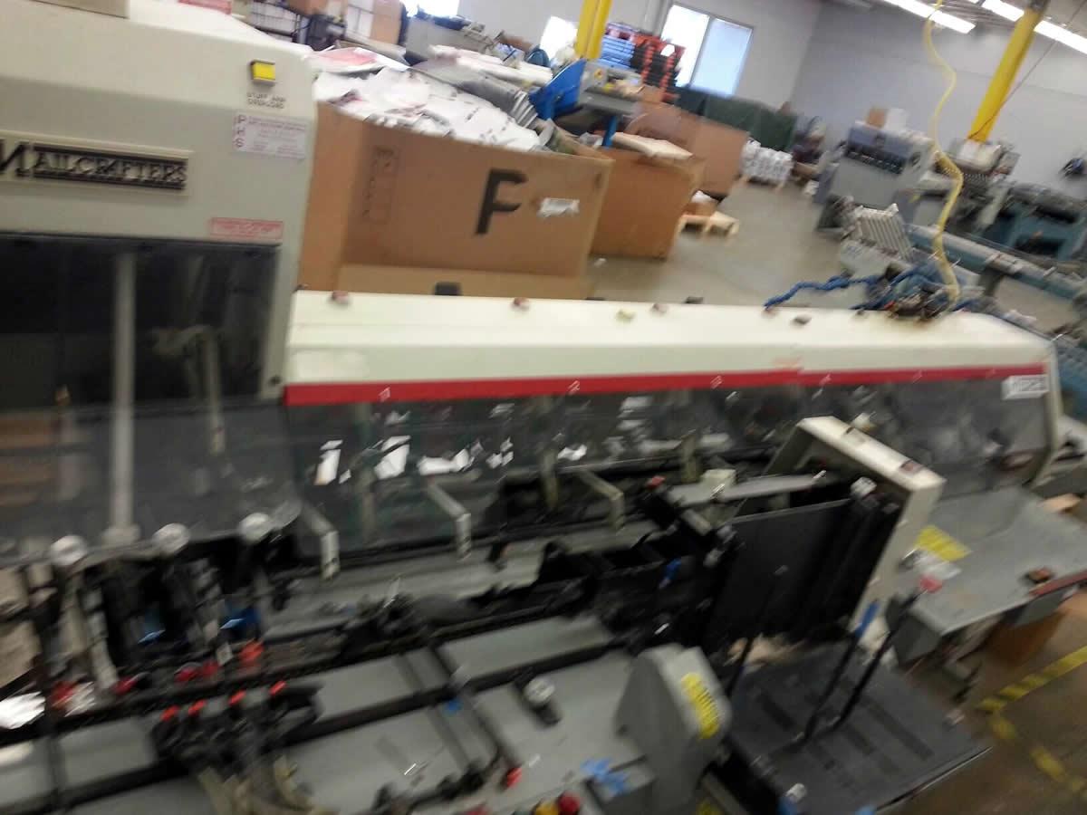 Mailcrafter 1200 9x12 Inserter - Roberts Business Machines, Inc